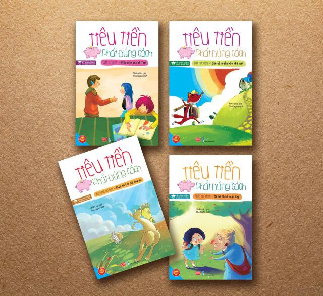 Những cuốn sách hay dạy con về tiền bạc từ tuổi tiểu học & THCS