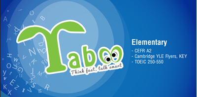 Picture of Taboo - Elementary level
