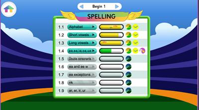 Reading EggsPress > English skills