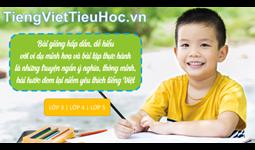 Thẻ học Tiếng Việt Tiểu Học