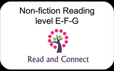 Khóa học đọc Non-fiction Reading Level E-G