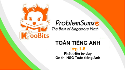 Koobits - toán tiếng Anh Singapore online