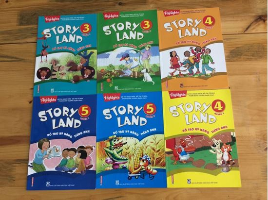 Picture of Bộ sách Story Land cho lớp 3-4-5