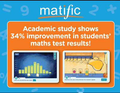 Matific giúp cải thiện rõ rệt điểm số môn Toán