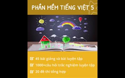 Picture of Combo Khóa học Online và Bộ tài liệu Ôn luyện tiếng Việt 5 ôn thi lớp 6