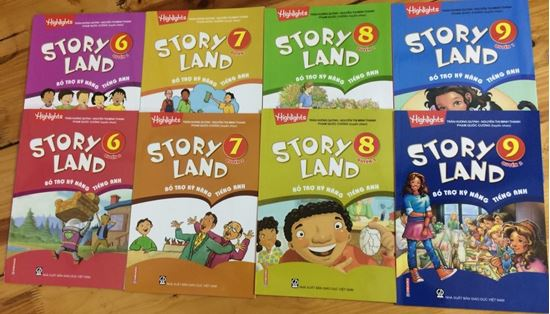 Picture of Bộ sách Story Land cho lớp 6-7-8-9