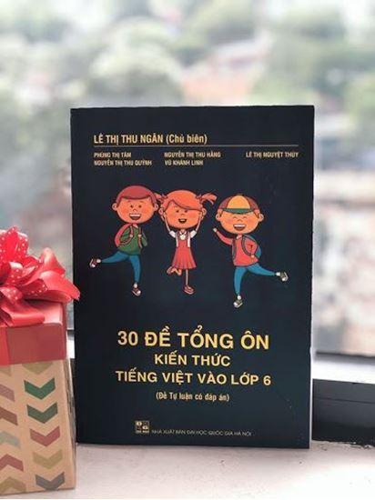 Picture of 30 đề tổng ôn kiến thức Tiếng Việt vào lớp 6