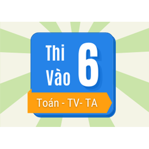 Picture for category Luyện thi vào lớp 6